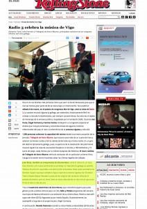 ROLLING STONE CRÍTICA RADIO 3 VIGO